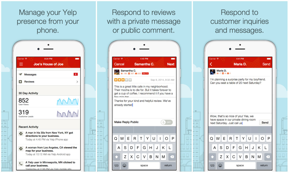 How to get great yelp reviews