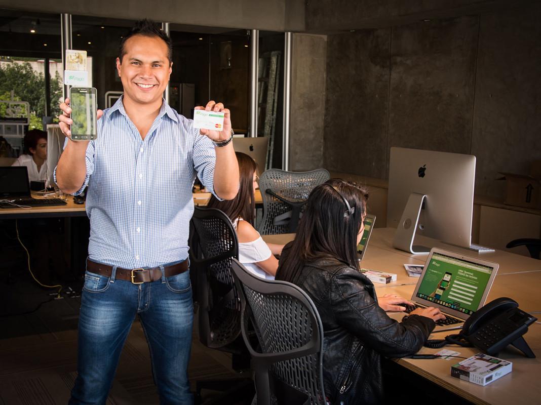 Enrique Marú, gerente de mercadotecnia de Sr. Pago