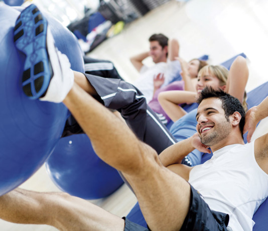 Gym activities.