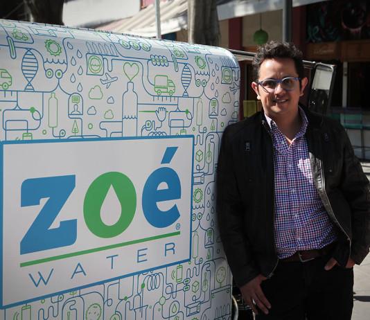 Hector Cruzado, cofundador de Zoé Water