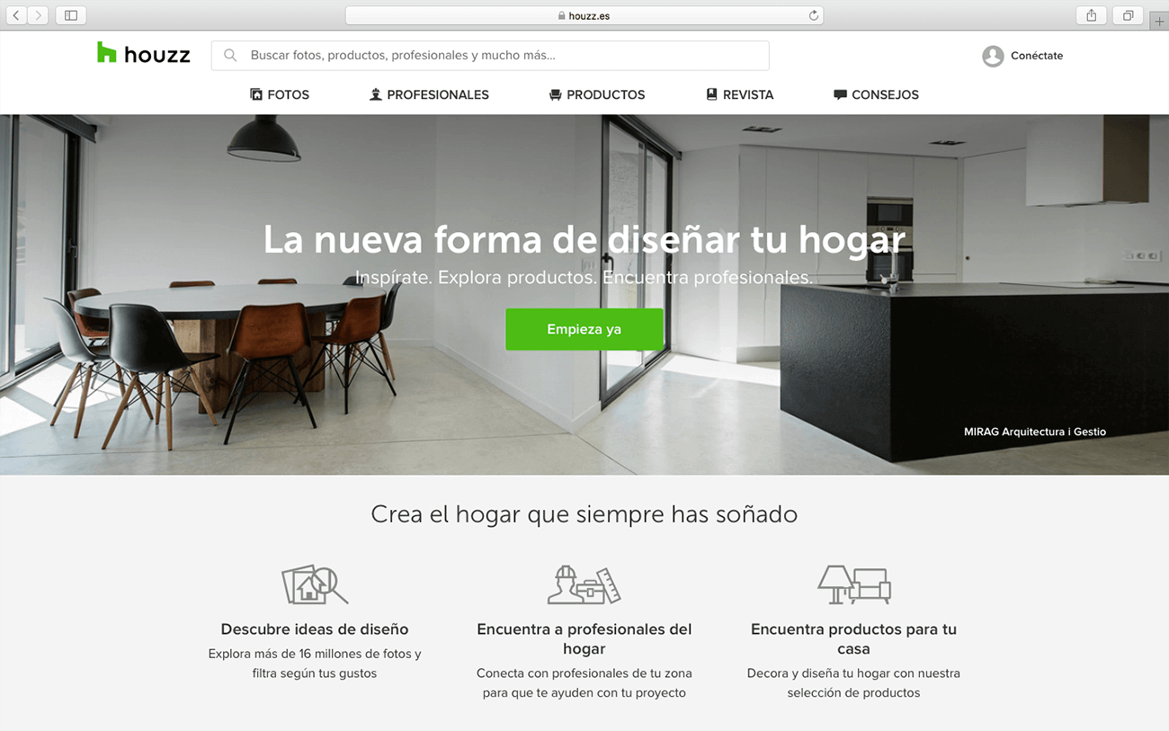 marketing para arquitectos houzz