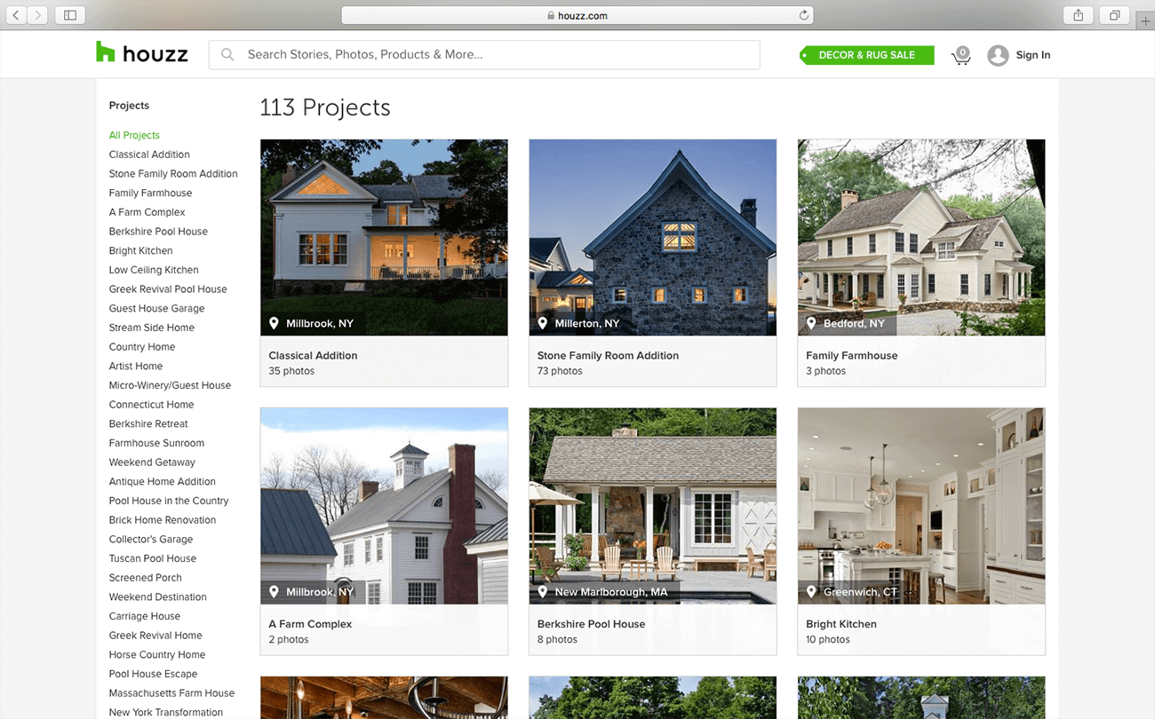marketing para arquitectos fotos houzz