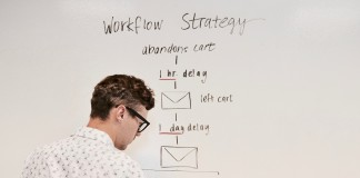 Marketing Automation Workflow Campaign White Board
