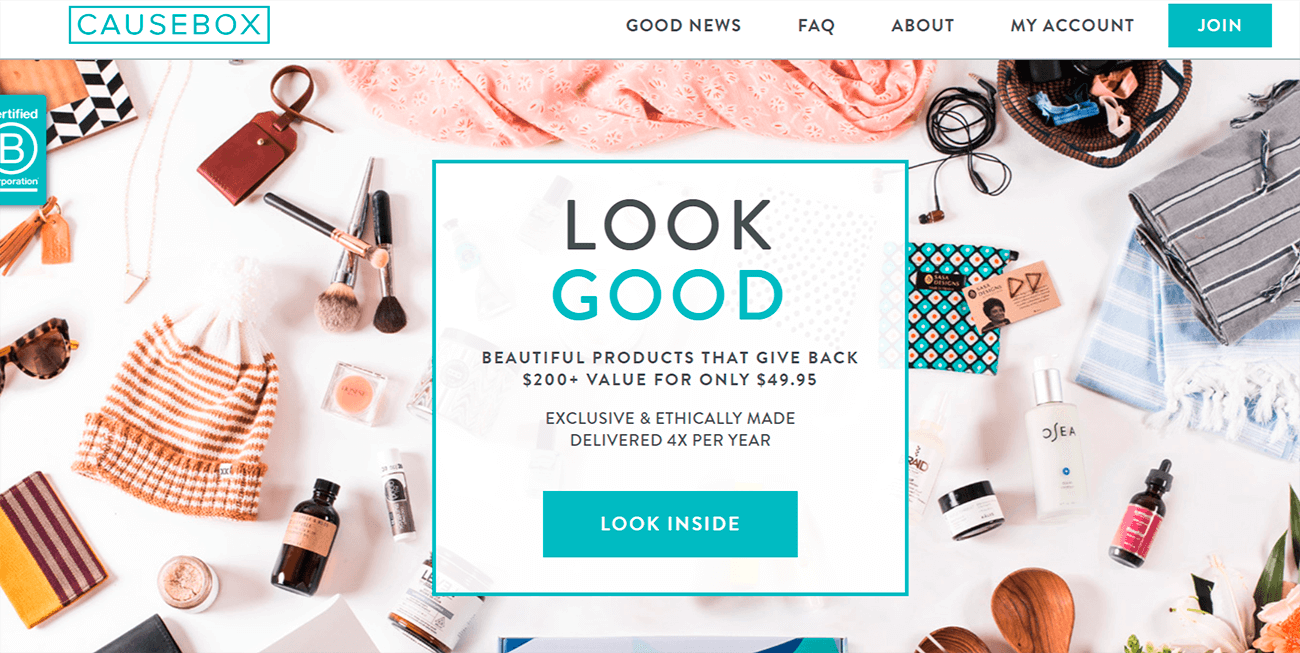 How to build an effective landing page. Product shot.
