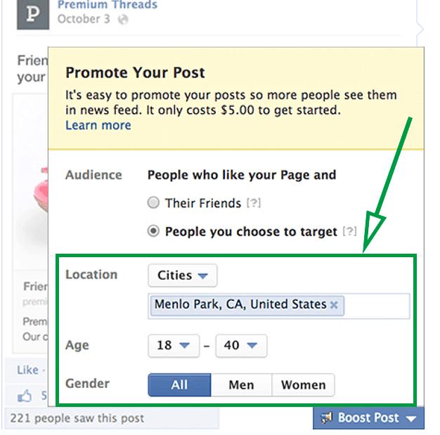 Facebook for real estate agents. Facebook ads segmentation.