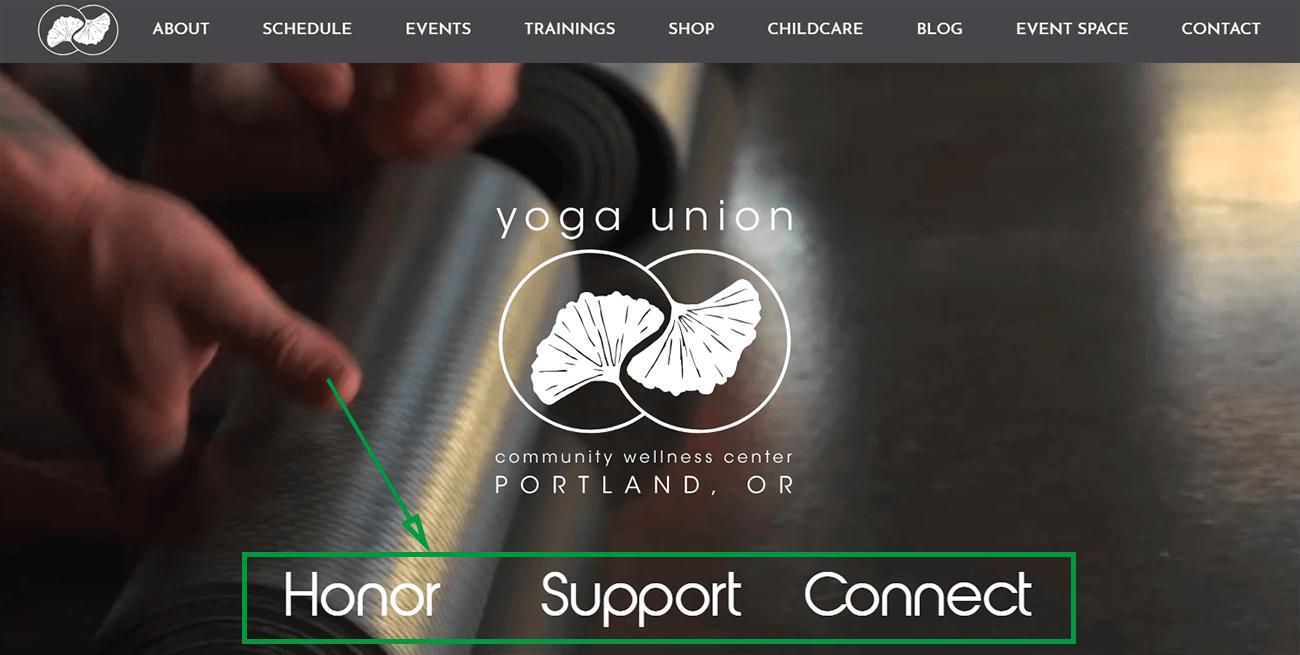 Marketing para yoga. Yoga union goals.