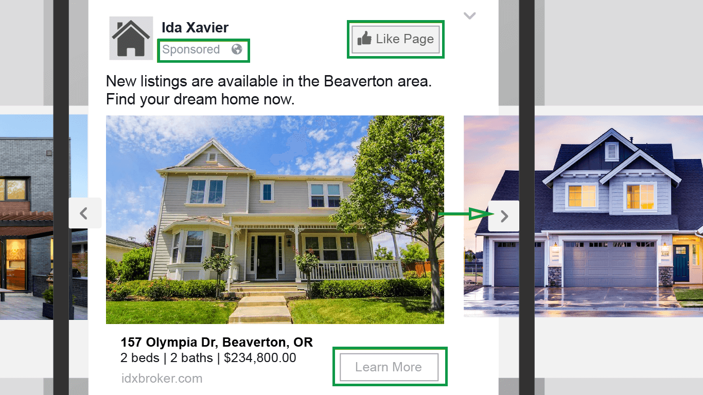 How to get clients in real estate. Facebook Dynamic Ads Google Sponsored Post
