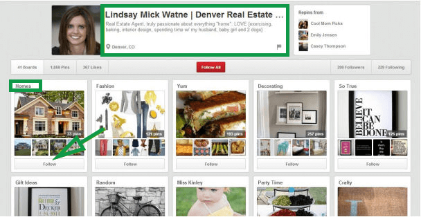 How to get clients in real estate. Pinterest Real Estate Agent Board Denver.
