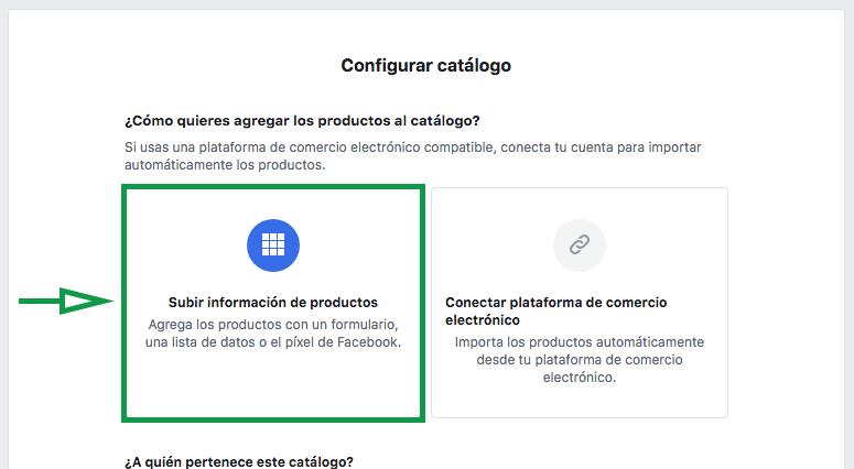 Marketing para joyerías. Configuración del catálogo de Facebook.