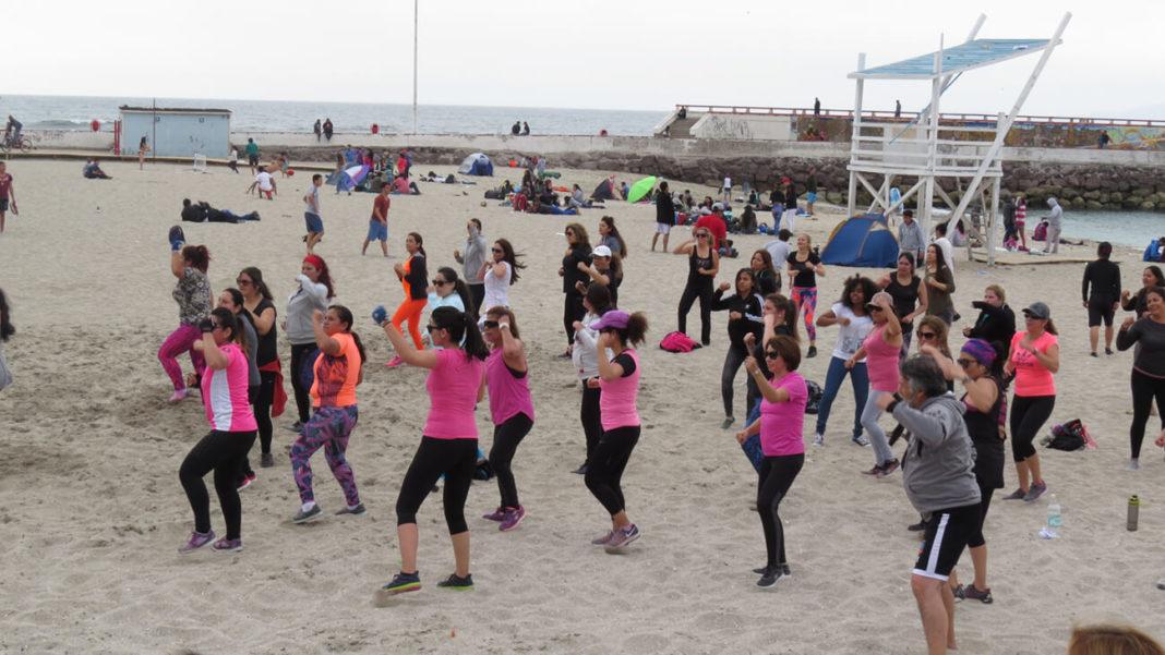 Marketing para entrenadores personales. Entrenamiento en la playa