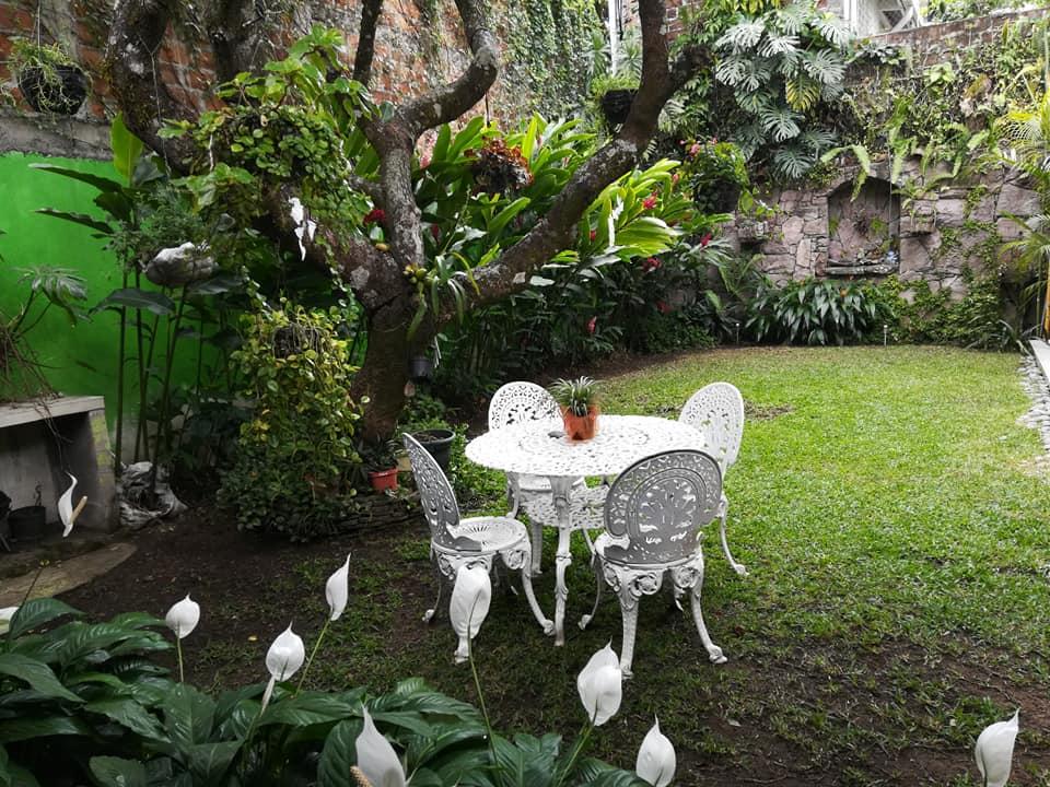 Hotel Antiguo El Salvador. Terraza