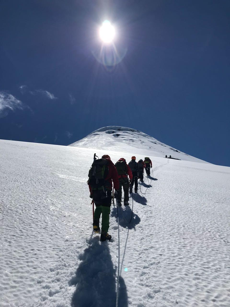 Plan de Digitalización Chile. Ascensión volcanes.
