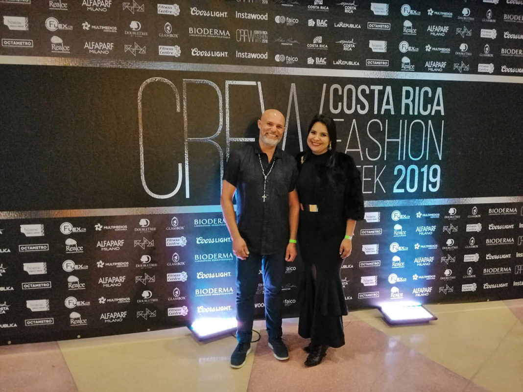 Endorfhina en la Costa Rica Fashion Week 2019.