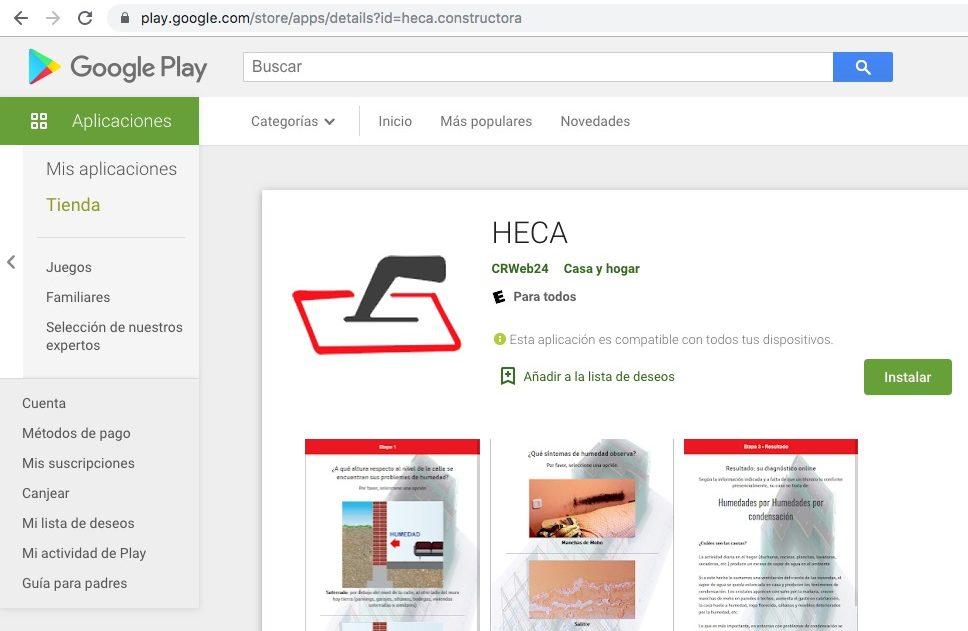 Plan de Digitalización Costa Rica. App de Heca.