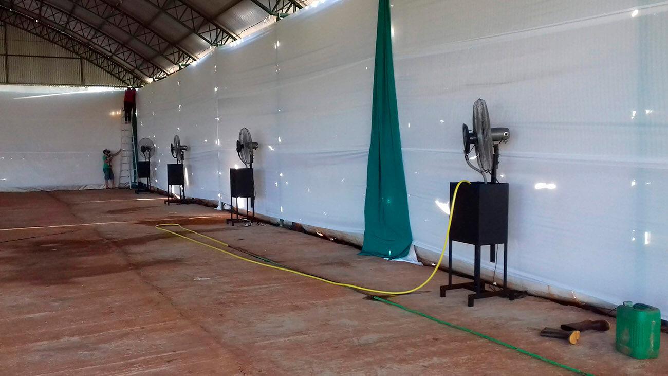 Plan de Digitalización Paraguay. LG Climatizadores en recinto.