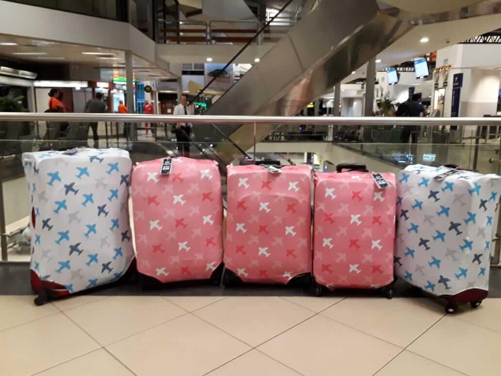 Quiero Viajar. Fundas de maleta personalizadas.
