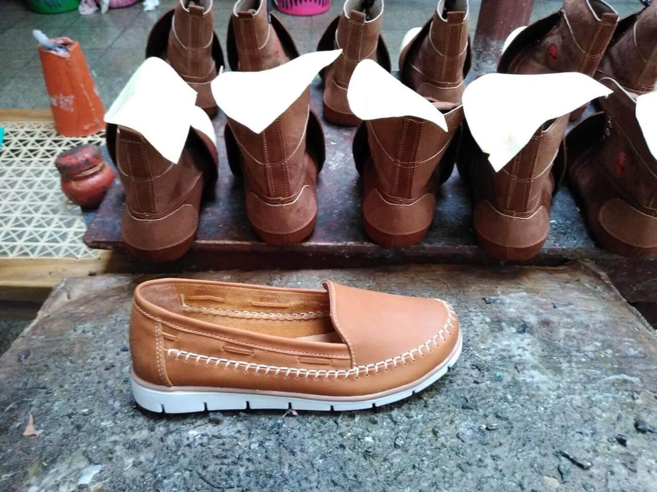 Duque's shoes. Modelo de mocasín.