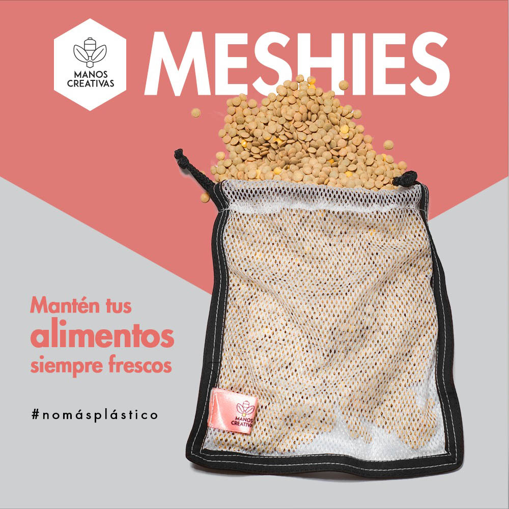 MANOS CREATIVAS. MESHIES
