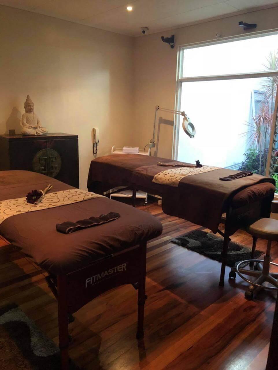 Solutions. Sala de tratamientos.