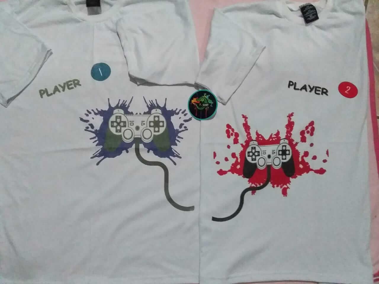 T-Shirt. Estampado jugadores.