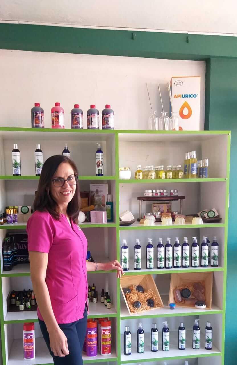Macrobiótica Healthy Shop. Ana y sus productos.