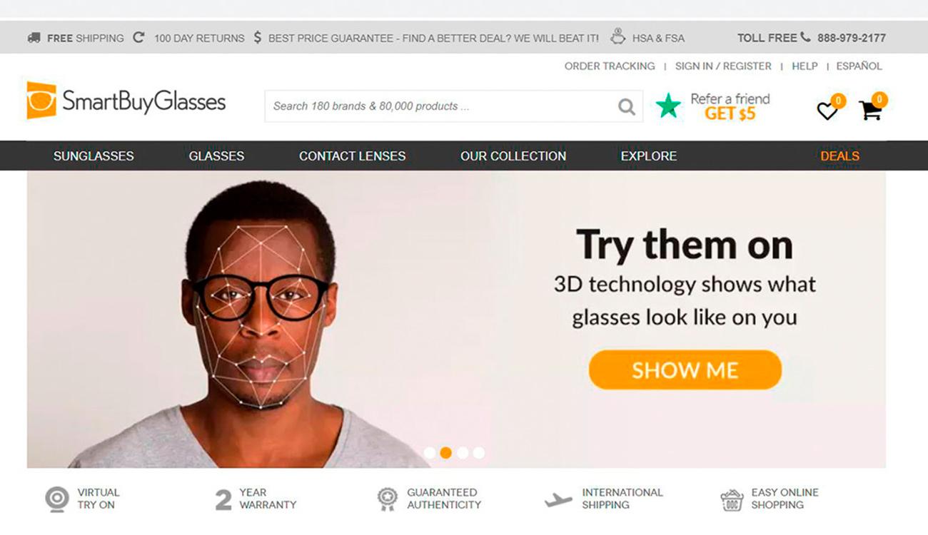 Estrategias de marketing para ópticas. Escaneo 3D de rostro