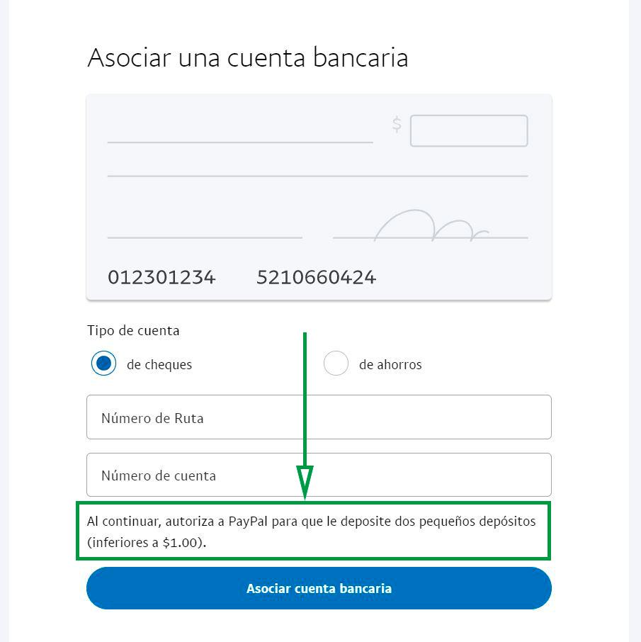 Cómo usar PayPal para recibir pagos como empresa. Asociar cuenta bancaria
