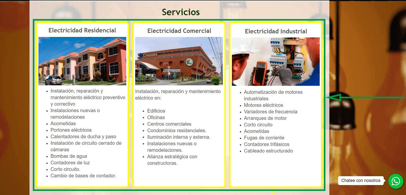Cinco Estrategias de Marketing para Electricistas. Sitio Web de Servieléctric
