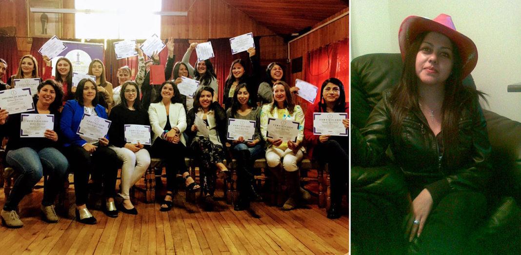 Torreones Capacita. Propietaria y alumnos graduados.