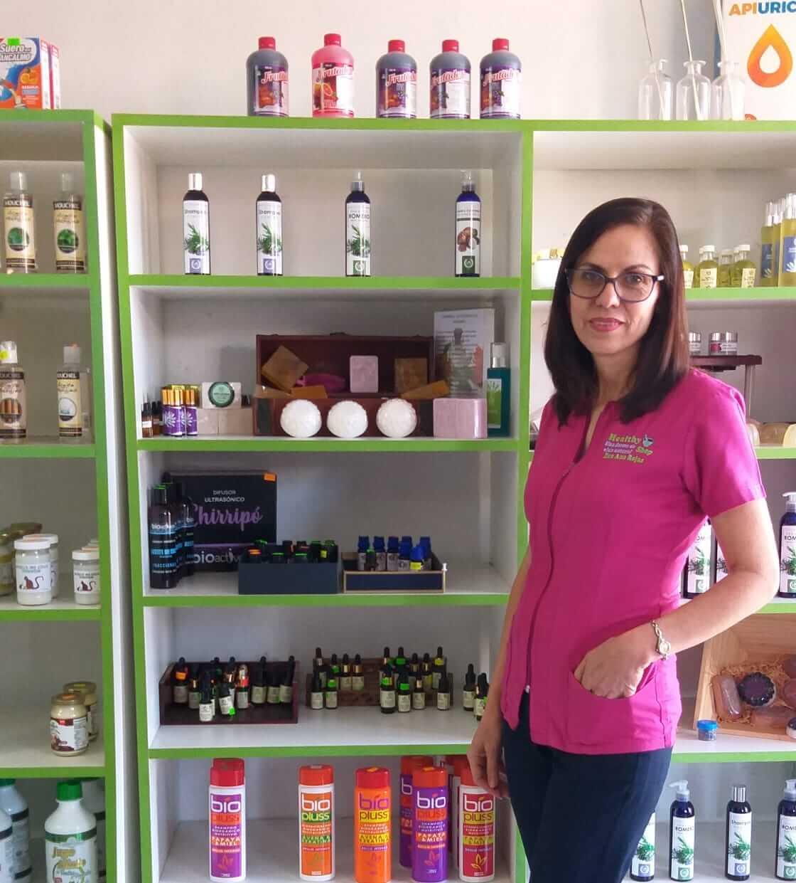 Macrobiótica Healthy Shop. Ana Rojas.