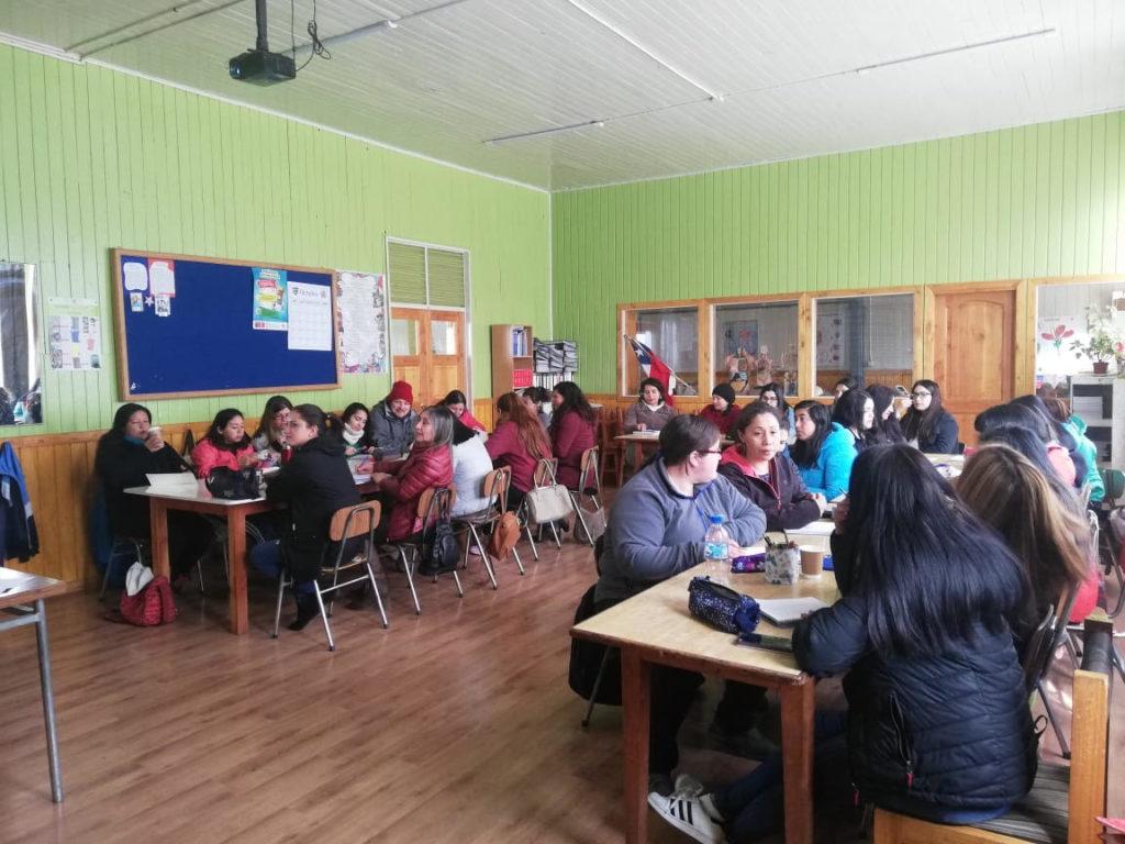Torreones Capacita. Salón de clases
