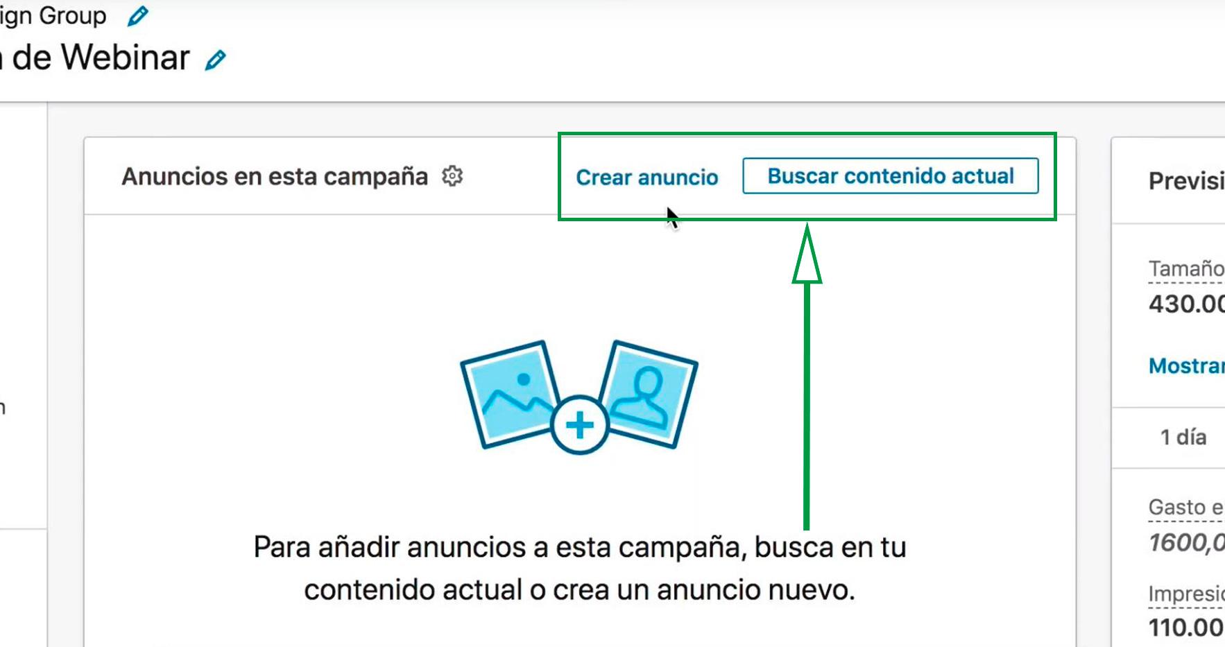 Cómo Usar Linkedin para captar clientes. Buscar contenido
