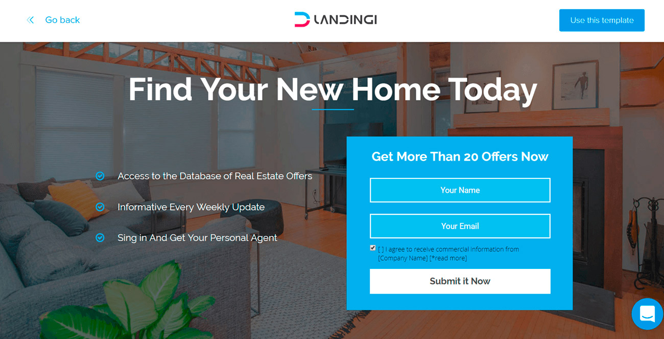 4 landing pages para inmobiliarias. ejemplo de landing