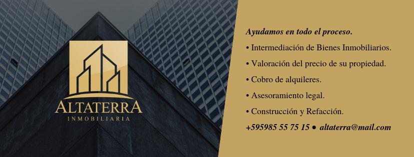 Altaterra Inmobiliaria. Servicios disponibles.