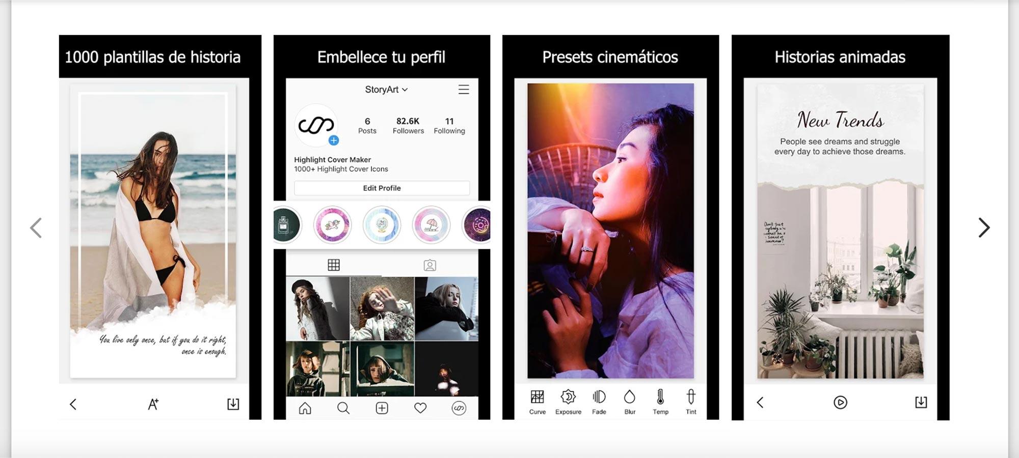 Cómo vender en Instagram. Story Art Opciones