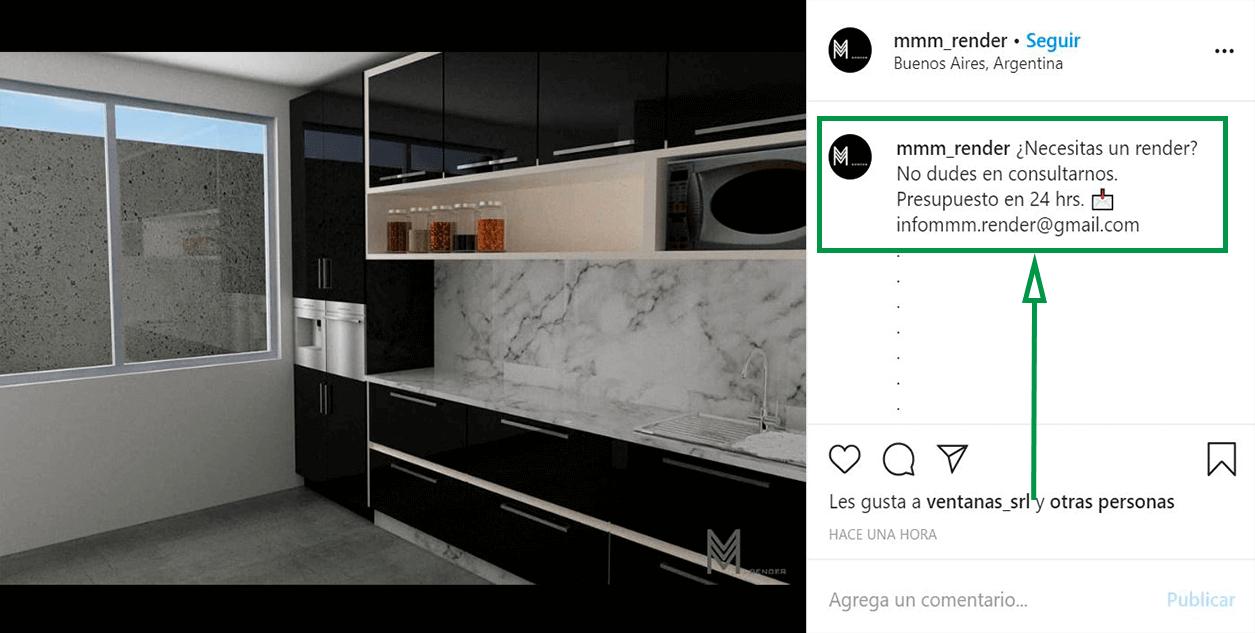 Estrategias de marketing para diseño de interiores. Instagram Ads.