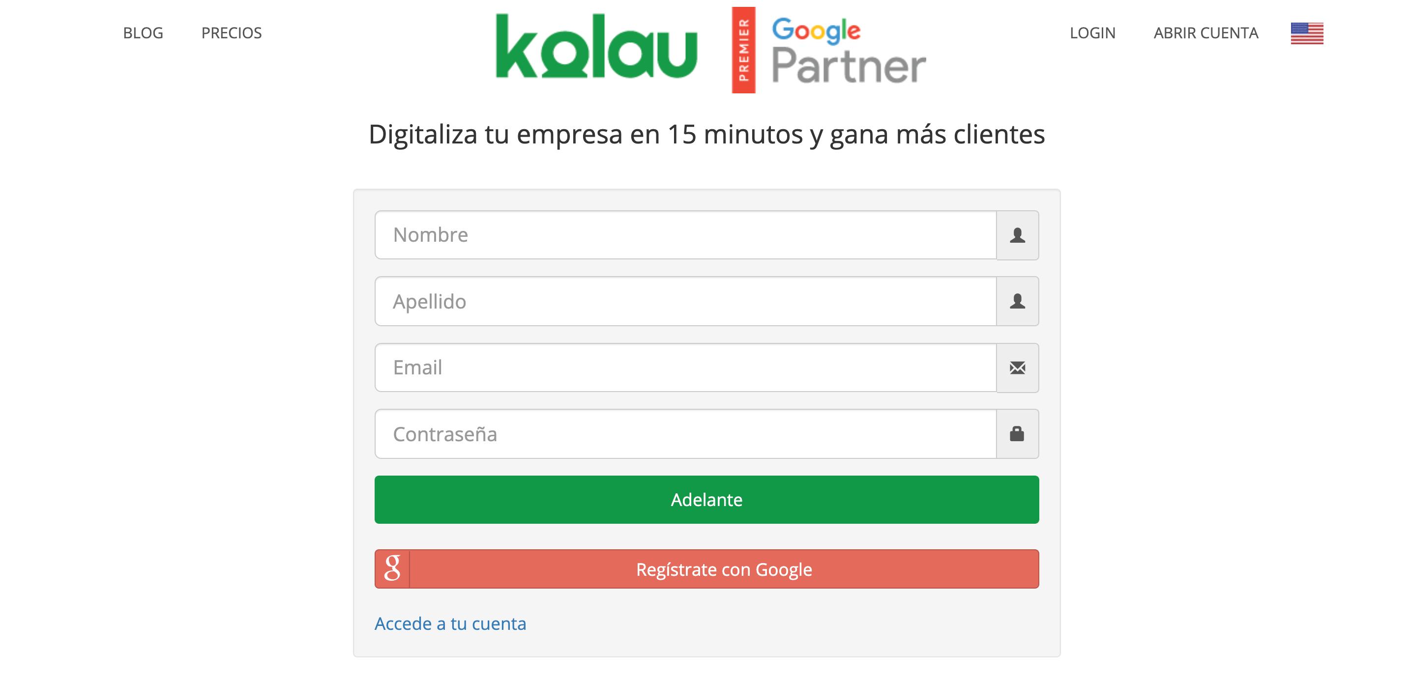 Crear Página Web para vender ropa. Datos personales