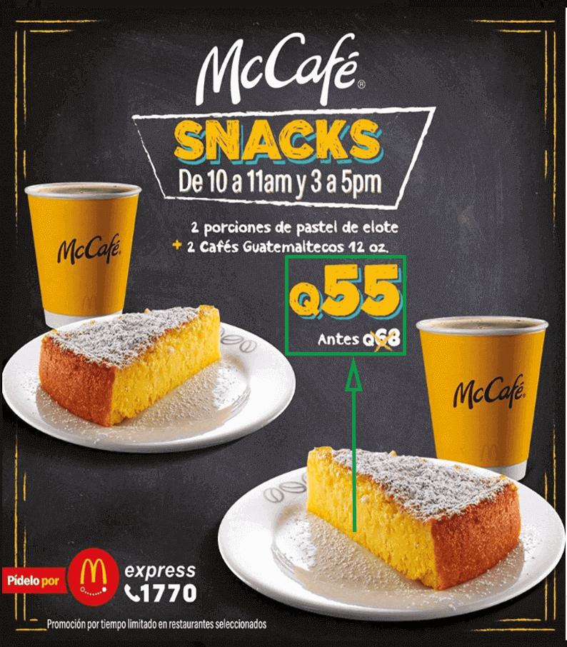 Cuánto gastar en publicidad. Imagen publicitaria de McDonalds