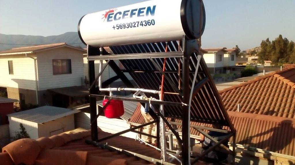 Ecefen. Panel solar