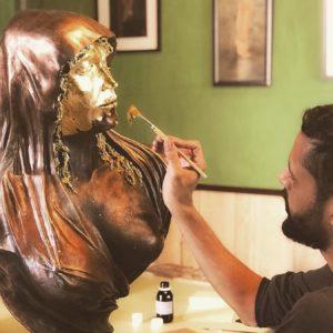 La Casa del Escultor. Escultura mujer