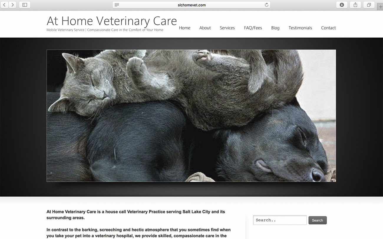 In-Home Grooming Services for Pets - Marketing for veterinary clinics