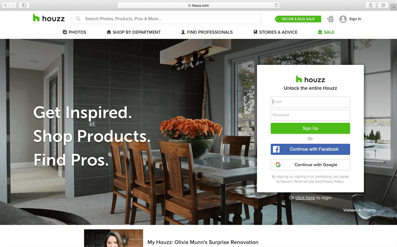 marketing for architects houzz