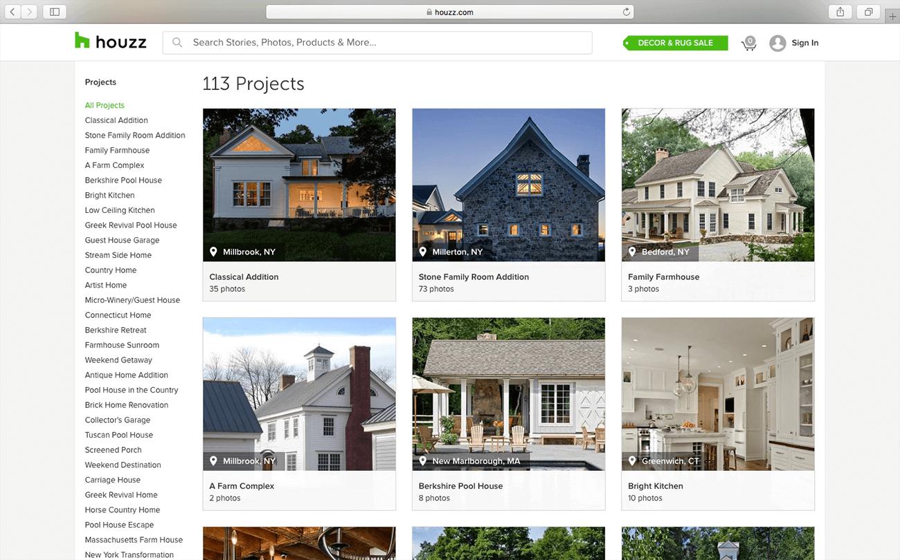 marketing para arquitectos fotos houzz