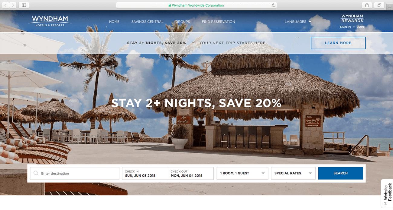 marketing para hoteles ejemplo descuento