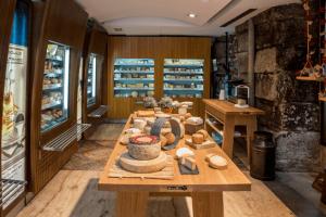 marketing para comida - vista tienda interior