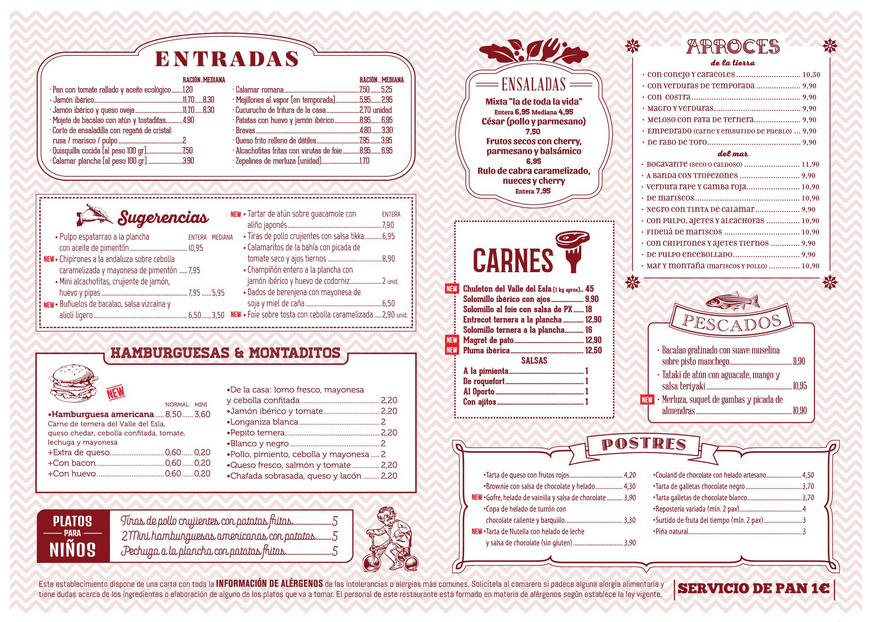 Restaurant Menu Marketing