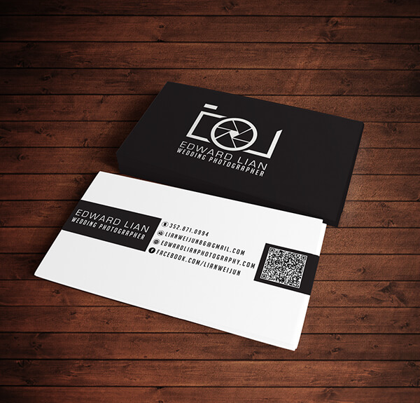 Marketing For Photographers Presentation Card