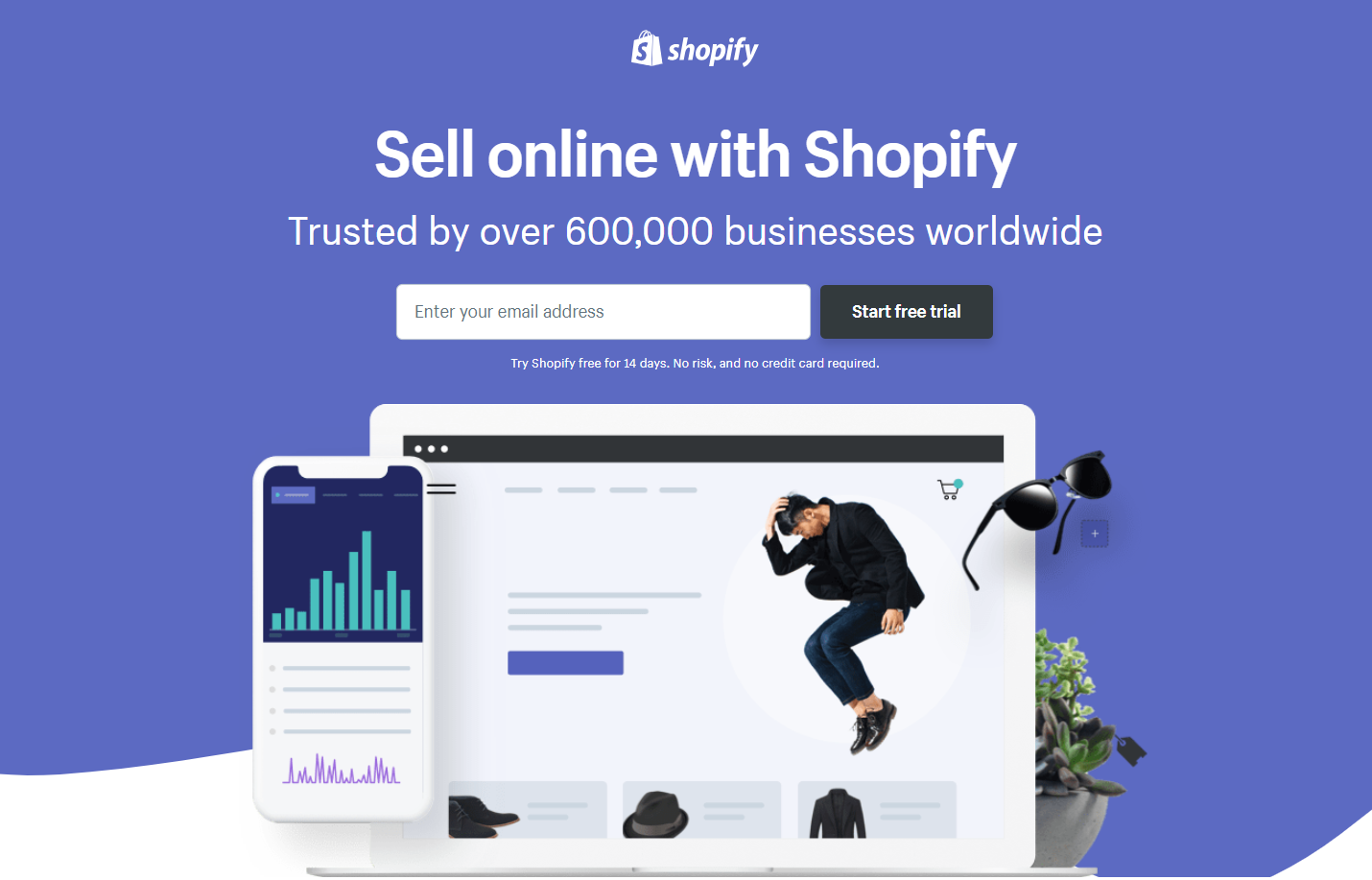 landing page anatomy for google ads campaign shopify