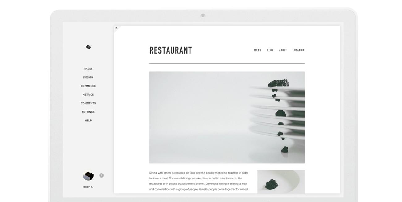 como crear una pagina web profesional squarespace