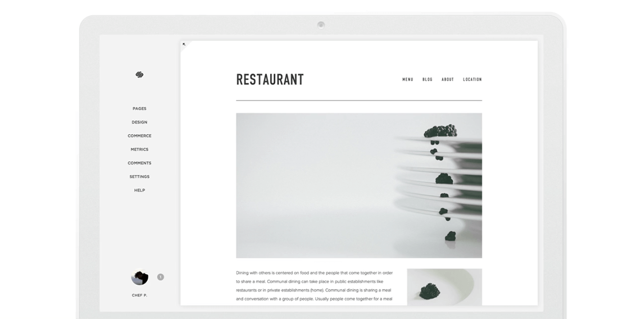 how to create a professional website squarespace